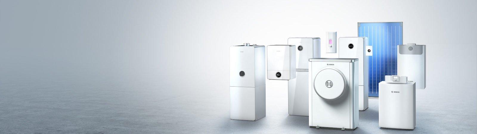 Bosch Heizungen im Überblick