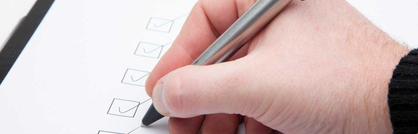 Heizung Checkliste