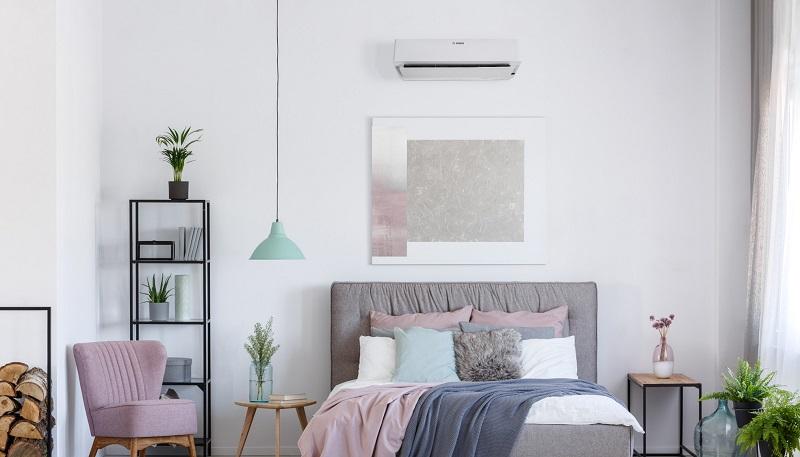 Klimaanlage im Schlafzimmer
