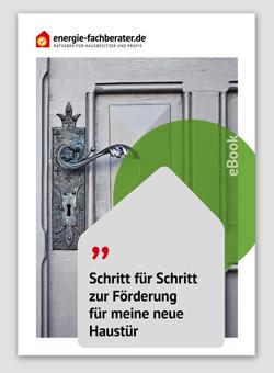 eBook Förderung Haustür