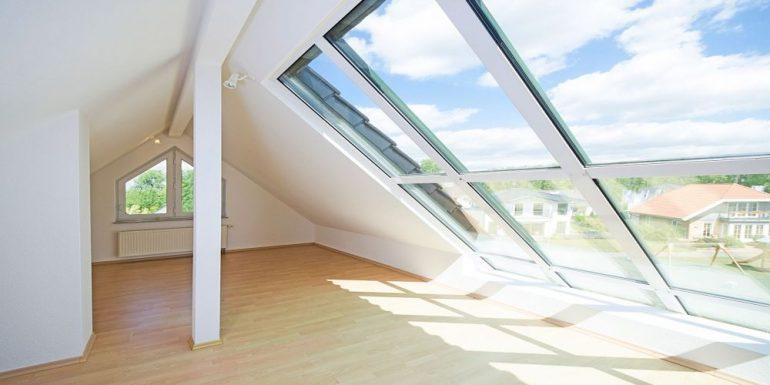 Hitze Dachgeschoss