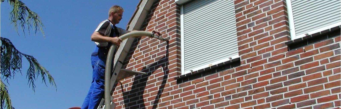 Kerndämmung: effektiver Wärmeschutz für zweischaliges Mauerwerk