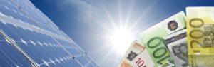 Einspeisevergütung für PV-Strom