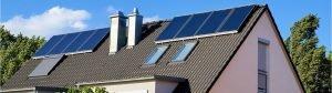 Gasheizung mit Solarthermie