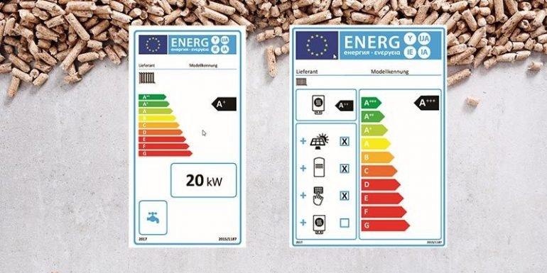 Holzheizungen jetzt mit Energielabel