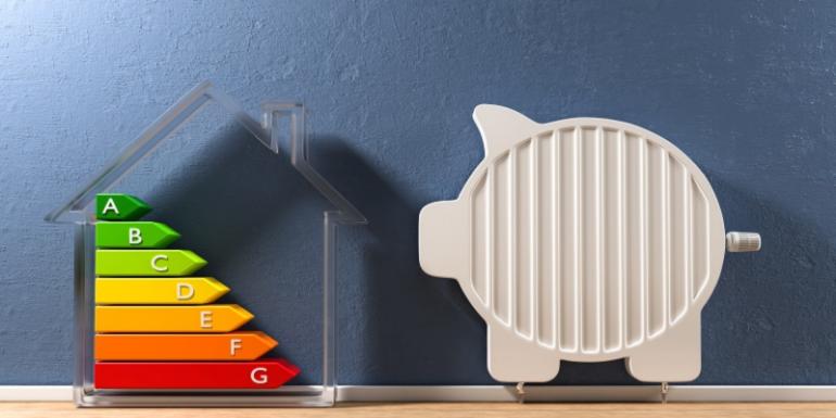 Energieeffizientes Haus spart Heizkosten