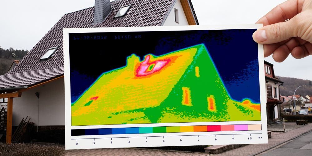 Sanieren mit Thermografie