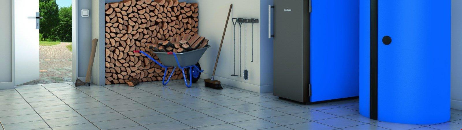 Scheitholzkessel: Modernisierung und Neubau mit Holzvergaserkessel