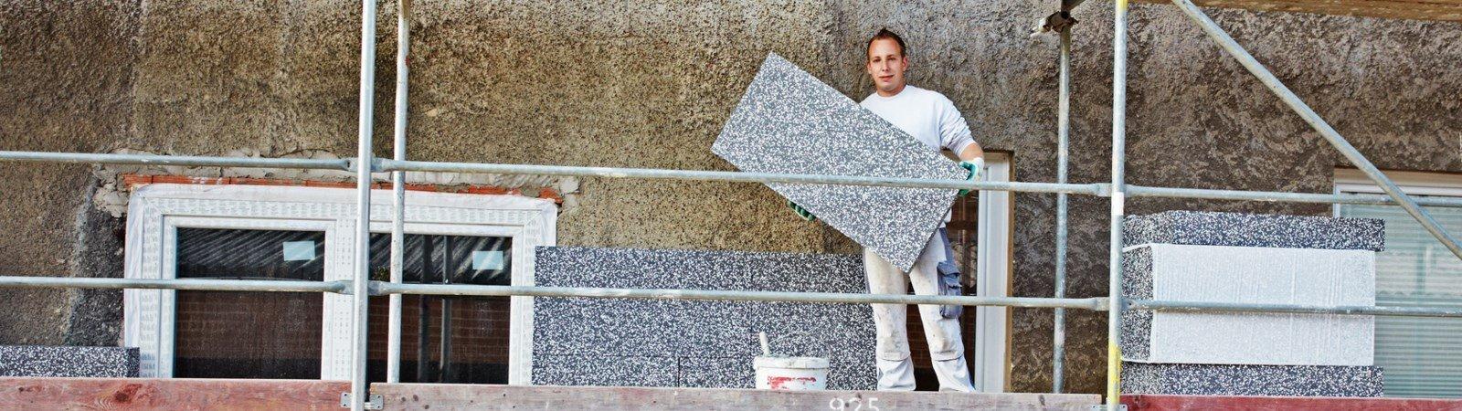 Dämmung am Haus: Energiesparen vom Dach bis in den Keller