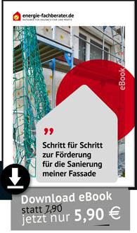 Anleitung Förderung Fassadendämmung