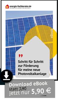 Anleitung Förderung Photovoltaik