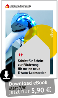 Anleitung zur Förderung der E-Auto-Ladestation