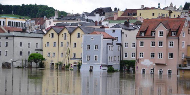Hochwasser Innenstadt