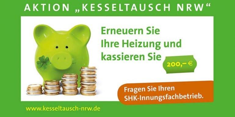 Aktion Kesseltausch in NRW