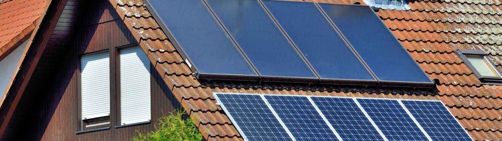 Solaranlagen installieren: Solarthermie & Photovoltaik
