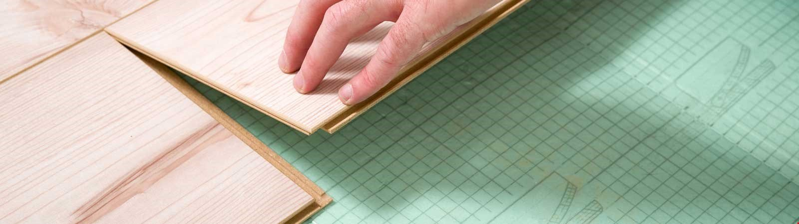 Trittschalldämmung: Passende Lösungen für alle Fußbodenarten